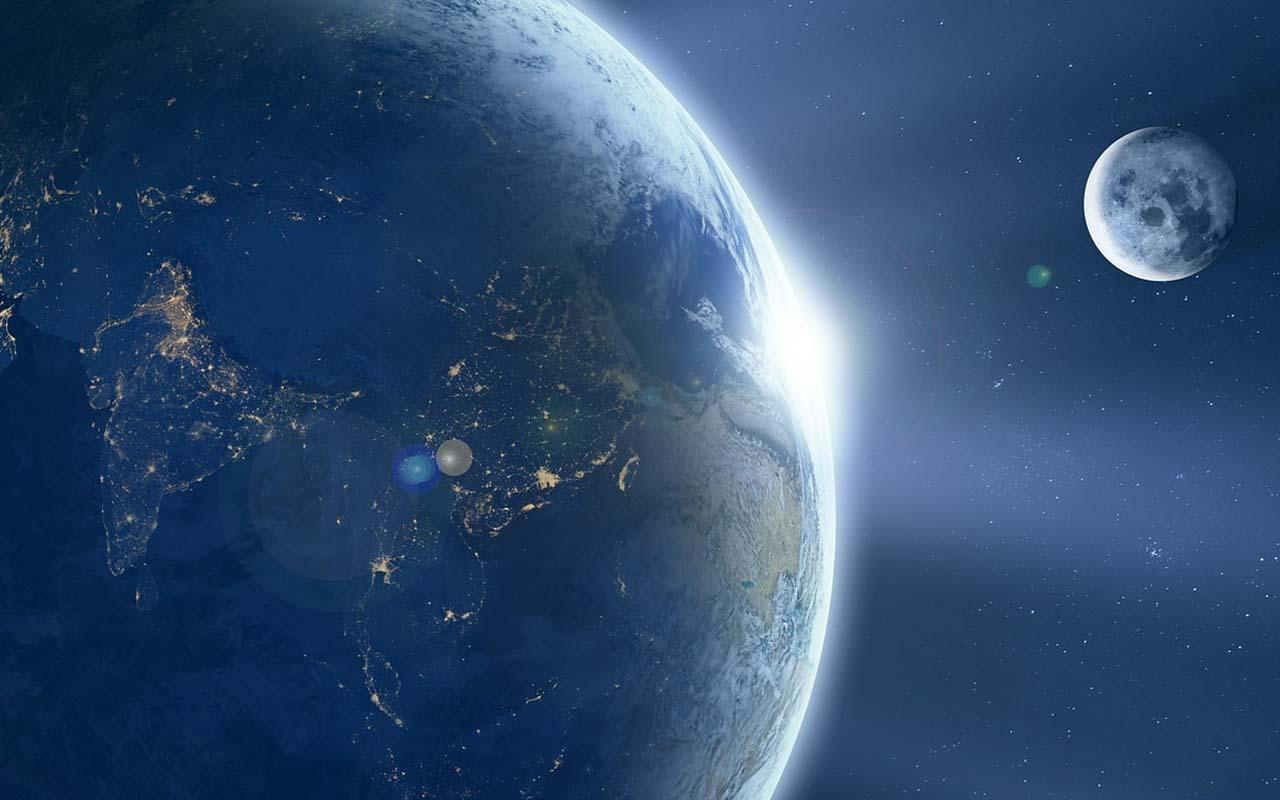 sun, moon, Earth, atmosphere, seasons, climate, Summer, seasons