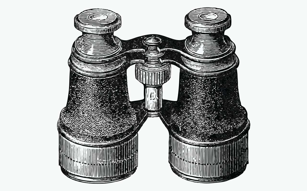 binoculars, Titanic, facts, science, history, key, locked