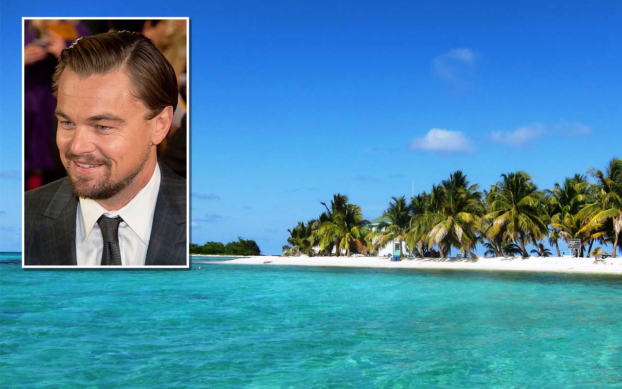 Leonardo DiCaprio, private island, Belize, travel, resort, facts, life, celebs