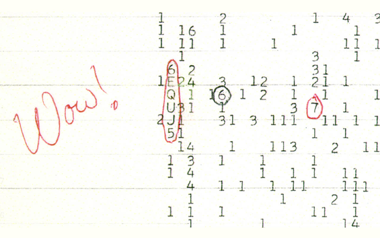 phenomena, wow signal, unknown origin, Alien, space, universe, life, facts, science