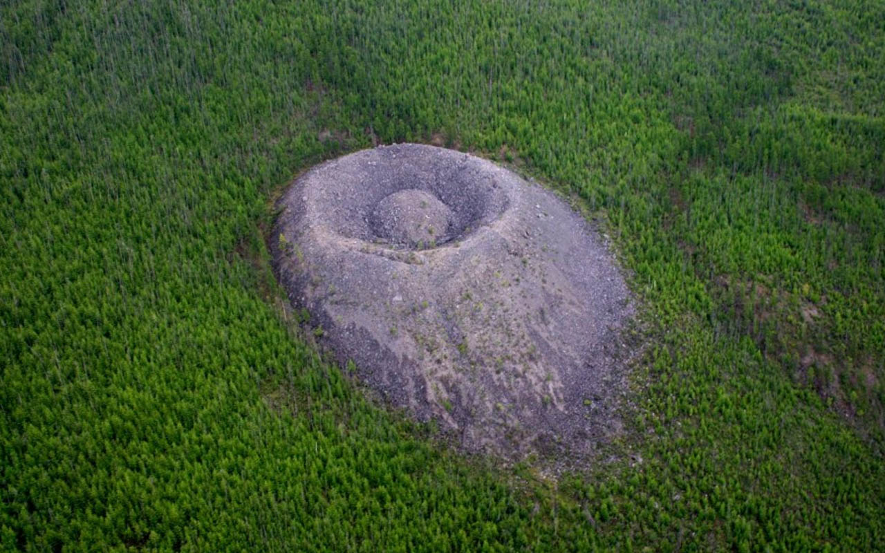 Patom Crater, Siberia, Russia, facts, science, nature, Earth