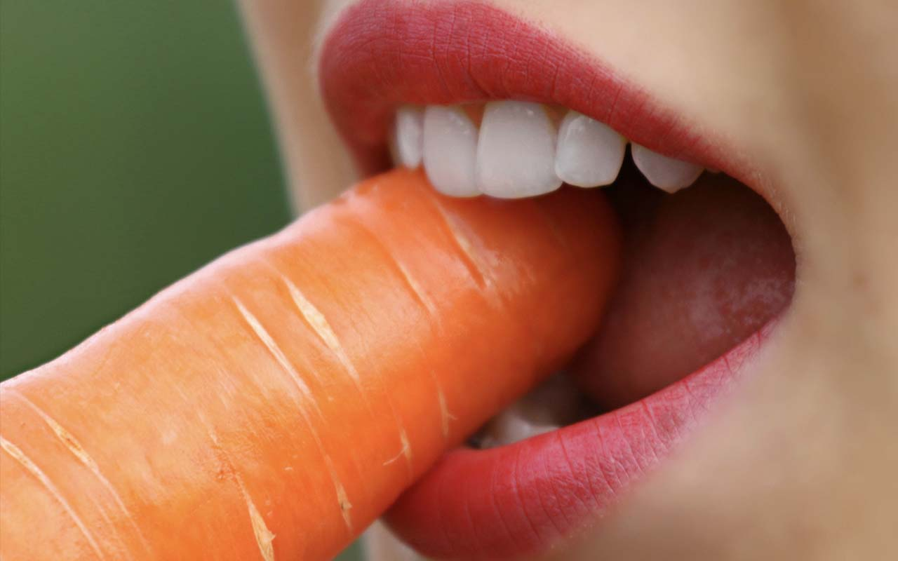 teeth, food, chewing, life, facts, people, carrots