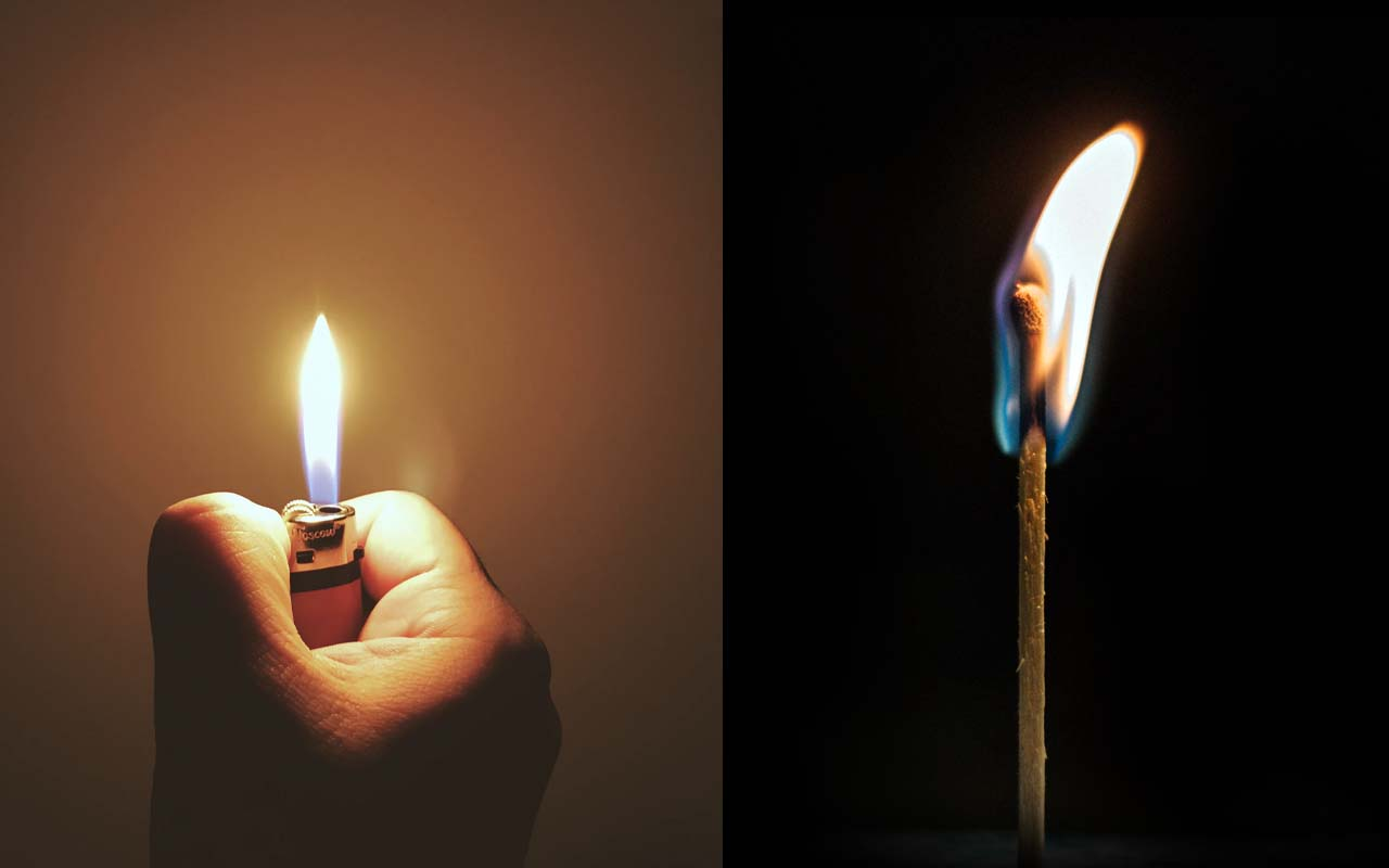 matchstick, lighter, facts, science, history