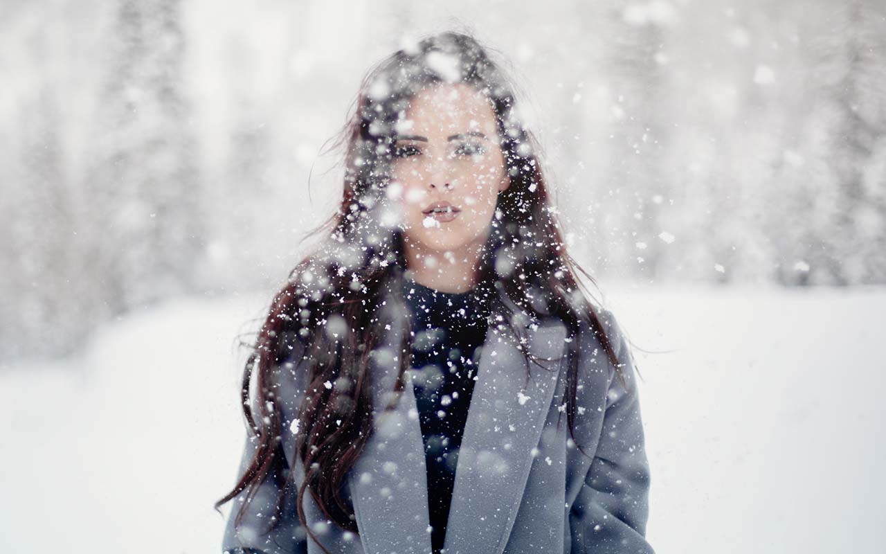knowing, desperate, woman, snow, climate, temperature, facts, science, body temperature