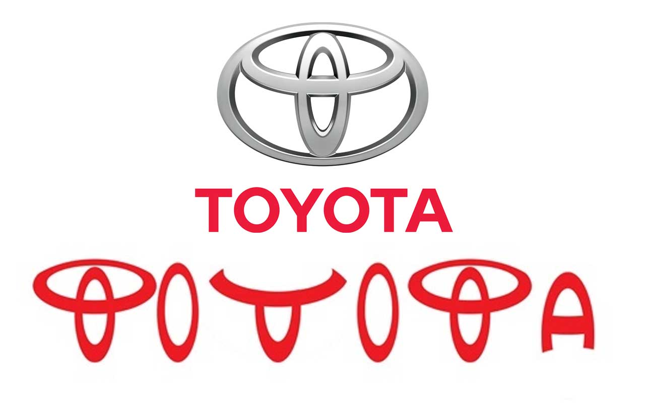 Toyota, logo, hidden, secrets, facts, companies