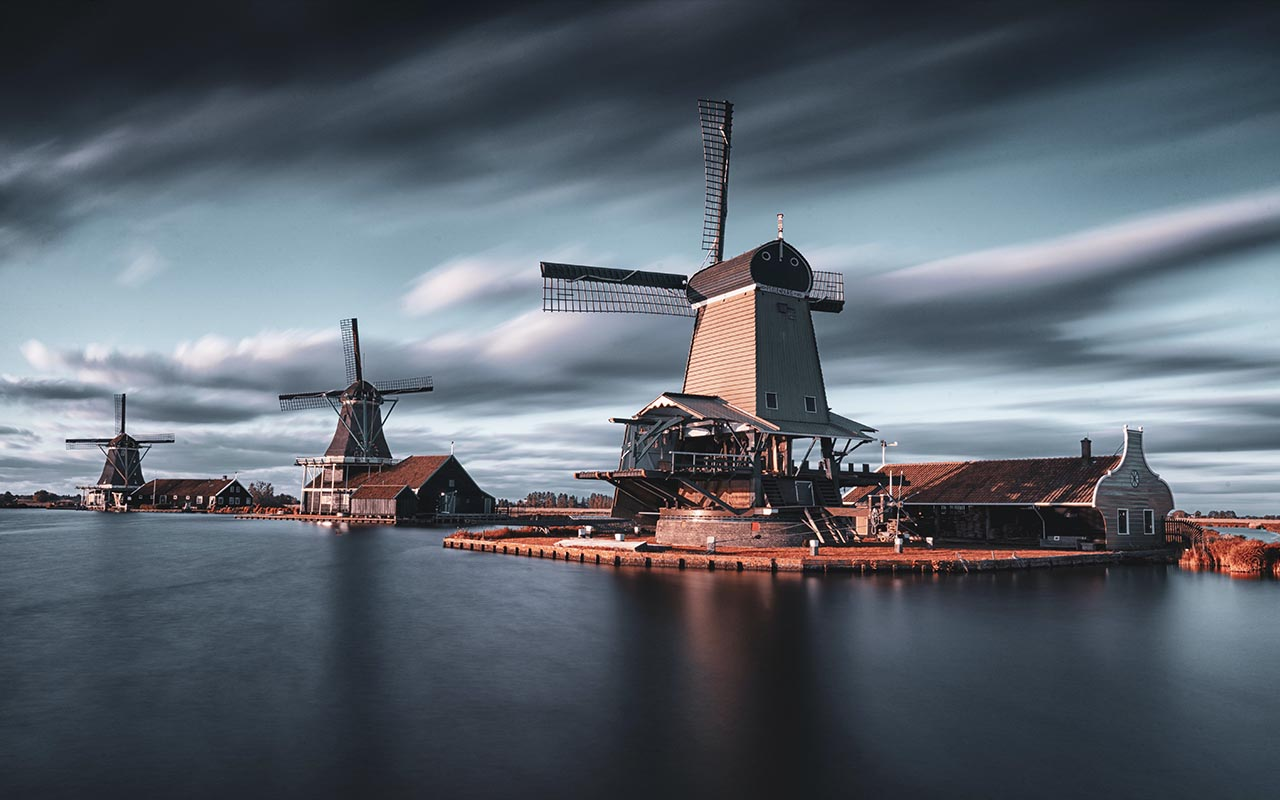 Netherlands, windmills, 1800's, facts, people, inventions, history