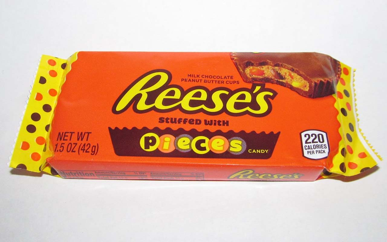 Reese's Pieces, candy, chocolate, facts, science, learn, teach, new