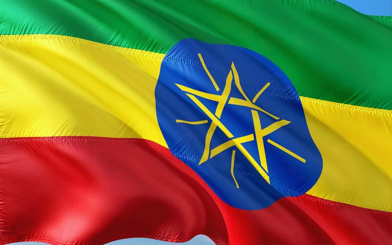 Ethiopia, flag, international flag, facts, time