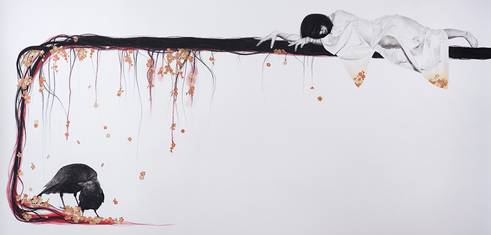 Stephanie Inagaki Love Loyalty Drawing Metamorphosis