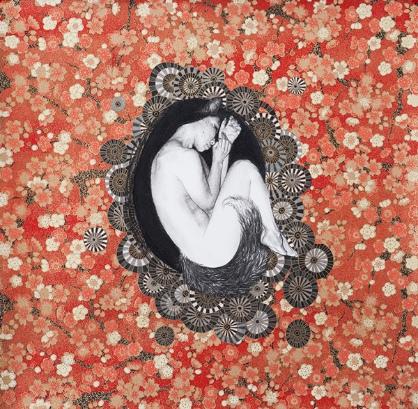 Stephanie Inagaki Nesting Kitsune Drawing Metamorphosis