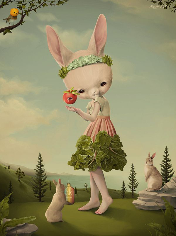 Roby Dwi Antono Terikat Pekat Art Rabbit Bunny Art