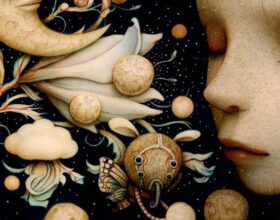 Naoto Hattori - painting - surrealism - art - contemporary art