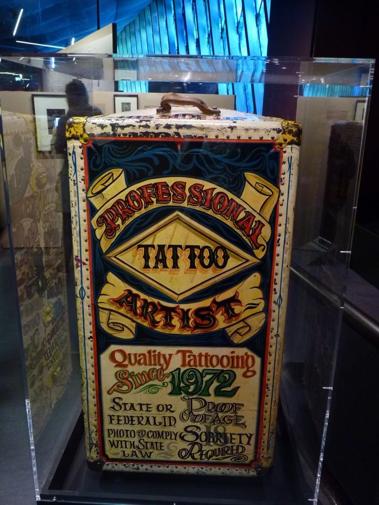 Tattooist Mobile Sign.