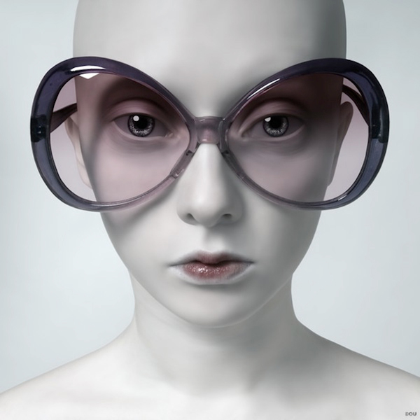 Oleg Dou Digital Art Glasses