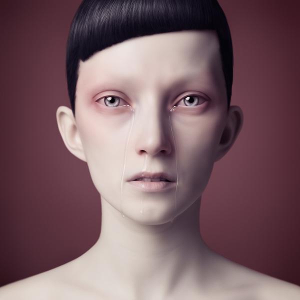 Oleg Dou Digital Art Tears 2