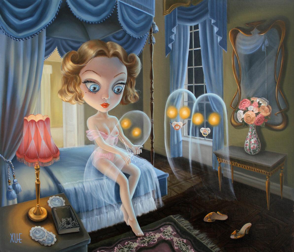 xue_wangs_haunted_house_beautifulbizarre_Feeding Time 02