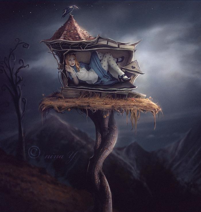 Alice _The_ White_ Rabbit's_ House_nina_y_not_beautifulbizarre13