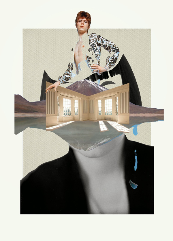 Ernesto Artillo Collage Bowie