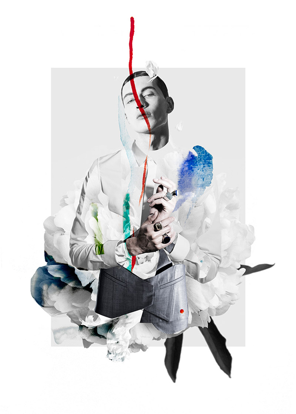 Ernesto Artillo Collage Six Lee 5
