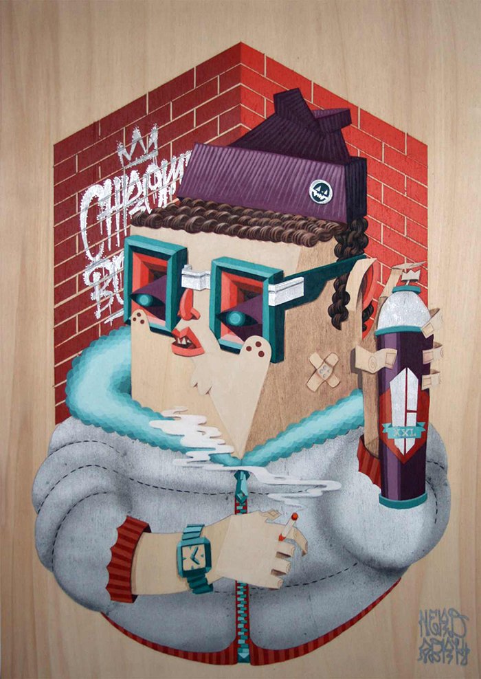Low Bros Digital Art Graphic Pop-Culture Surrealism Lowbrow Juxtapoz Beautifulbizarre