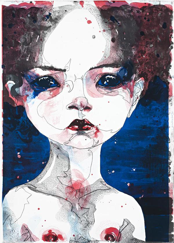 Del Kathryn Barton Australian Artist Painting 008