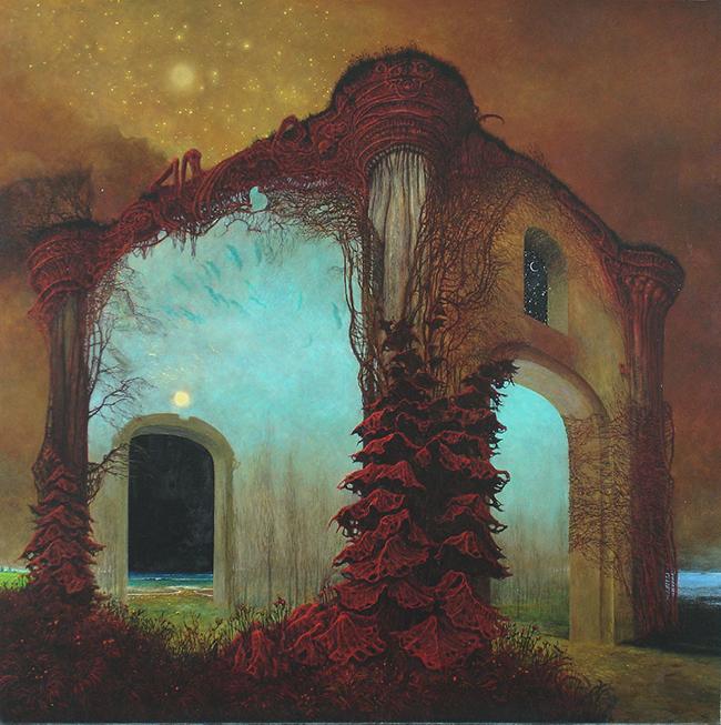 Zdzislaw Beksinski Utopian Realism Formalism Painting Beautifulbizzare