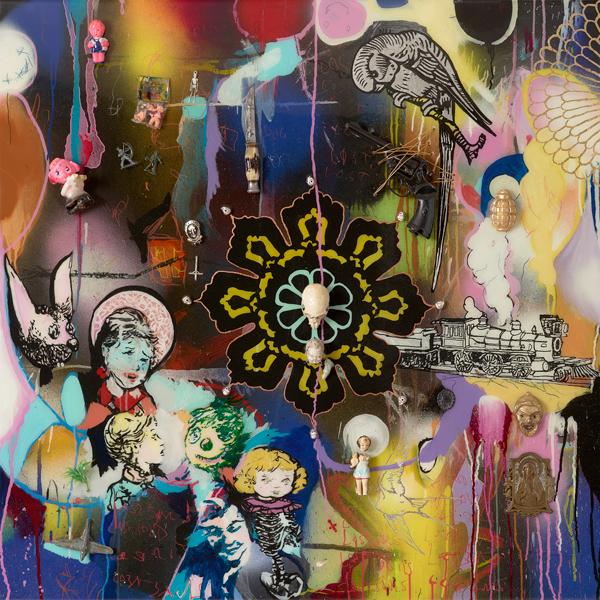 Dan Baldwin Painting Lost Souls2