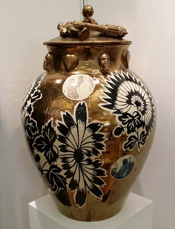 Dan Baldwin Ceramics Vase 014
