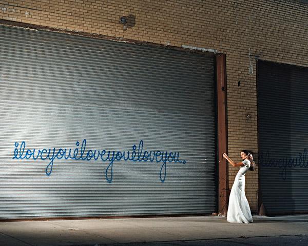 ILoveyou With Girl by David Drebin