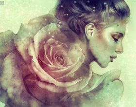 june - by anna dittmann - digital illustration