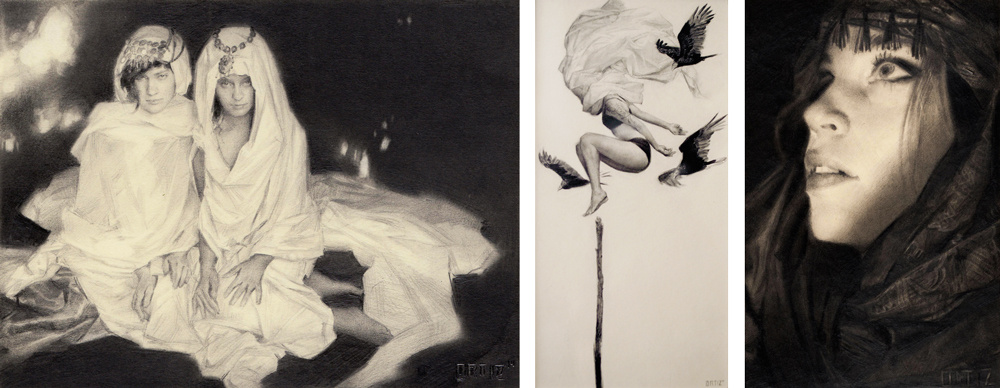 Karla Ortiz - Lore @ Hashimoto Gallery via beautiful bizarre art magazine
