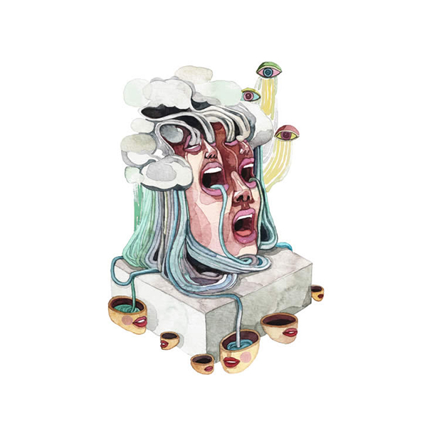 Gel Jamlang Beautiful Bizarre Surreal Illustration Political Filipino Artist