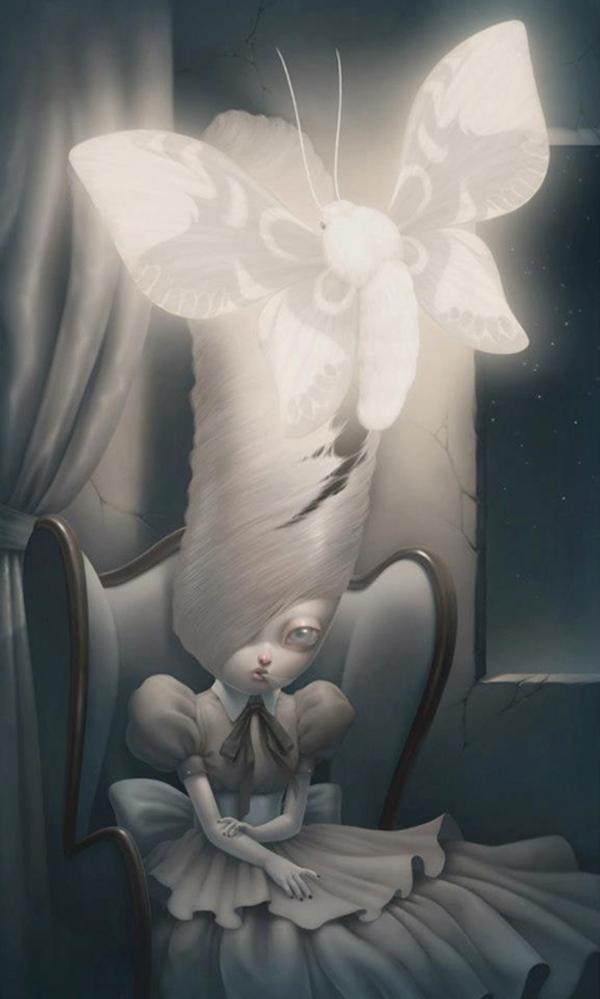 Paolo Pedroni beautiful bizarre pop-surrealism digital art