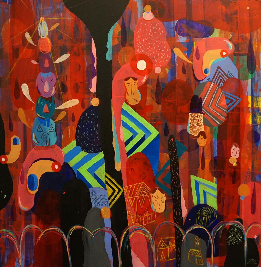 Dax Gallery - The Body of the Palace - Calarts Alumni tribute exhibition