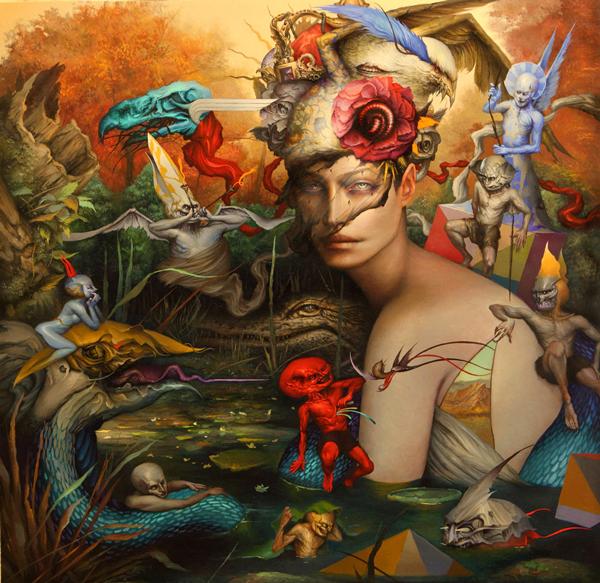 Dan Quintana Oil Painting 002