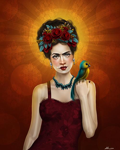 Frida Kahlo Aunia Kahn