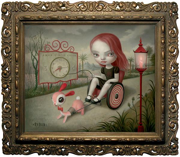 Mark Ryden Pop-Surrealism Surreal symbolism lowbrow oil painting