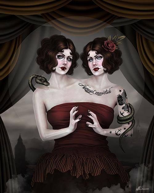 Twins dark art