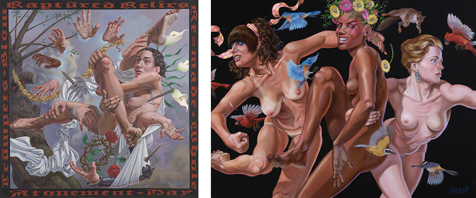 Baker Hesseldenz - 1st Annual Pop Surrealism Masters Art Exhibition 2014 - feat. Van Arno