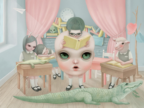 Hsiao Ron Cheng Illustration 002