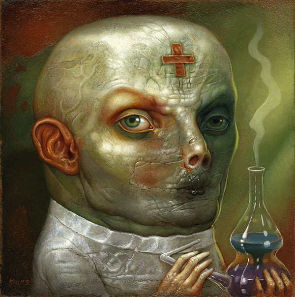 Chris Mars Beautiful Bizarre surreal macabre