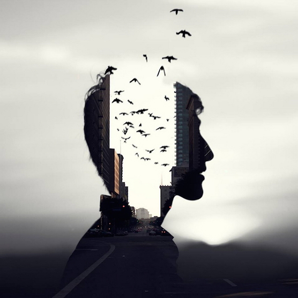 Christopher J Rivera BeautifulBizzare abstract double exposure