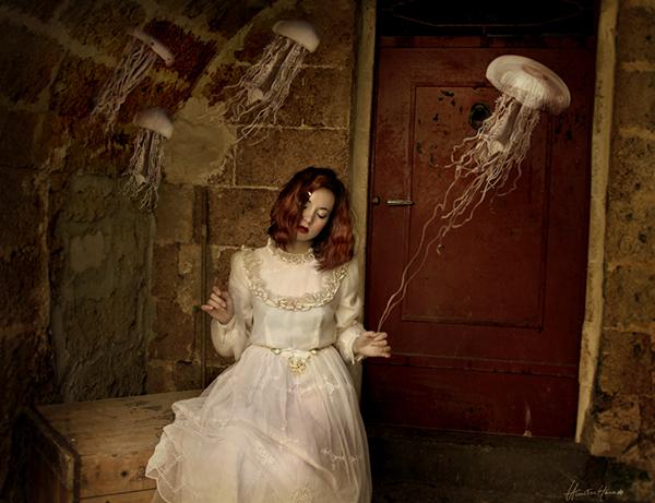 Chiara Fersin Himitsuhana BeautifulBizarre surreal photography photomanipulation