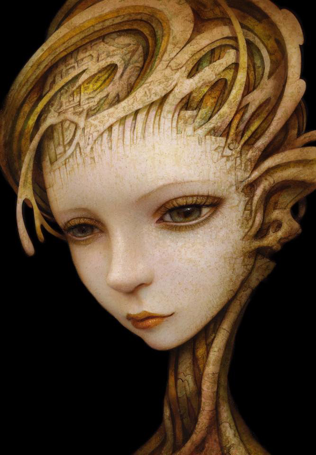 by Naoto Hattori - A part of Baker + Hesseldenz' 2015 Portraiture show. Learn more about the show on Beautiful Bizarre's website