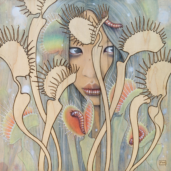 Fay Helfer @ Baker Hesseldenz - 1st Annual Spring Group Exhibition 2015 - preview by beautiful bizarre art