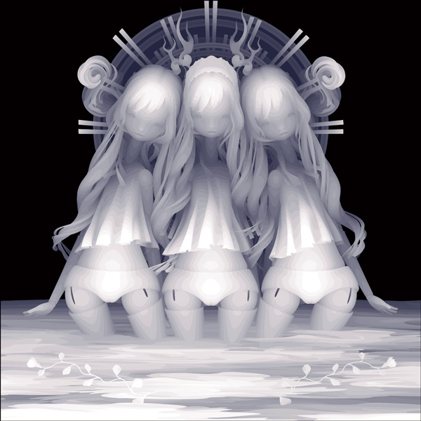 Three Friends by Kazuki Takamatsu - Art Exhibition at Dorothy Circus Gallery