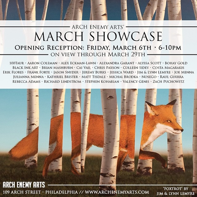 march showcase_arch enemy arts_beautifulbizarre