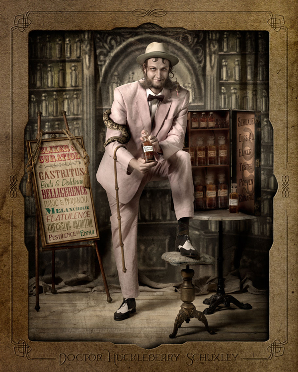 Doctor Huckleberry Schuxley by Ransom & Mitchell - retrospective exhibition at Vanilla Gallery Japan