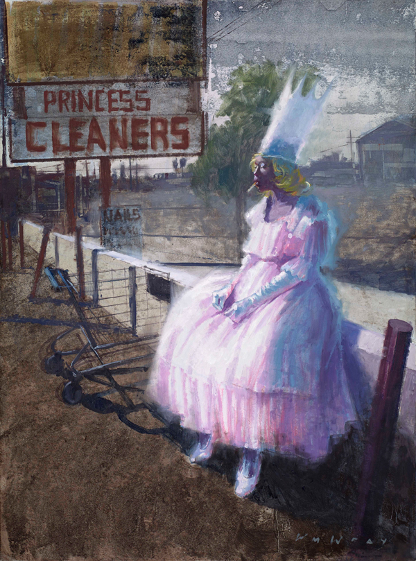 Princess #2 by William Wray @ Merry Karnowsky Gallery