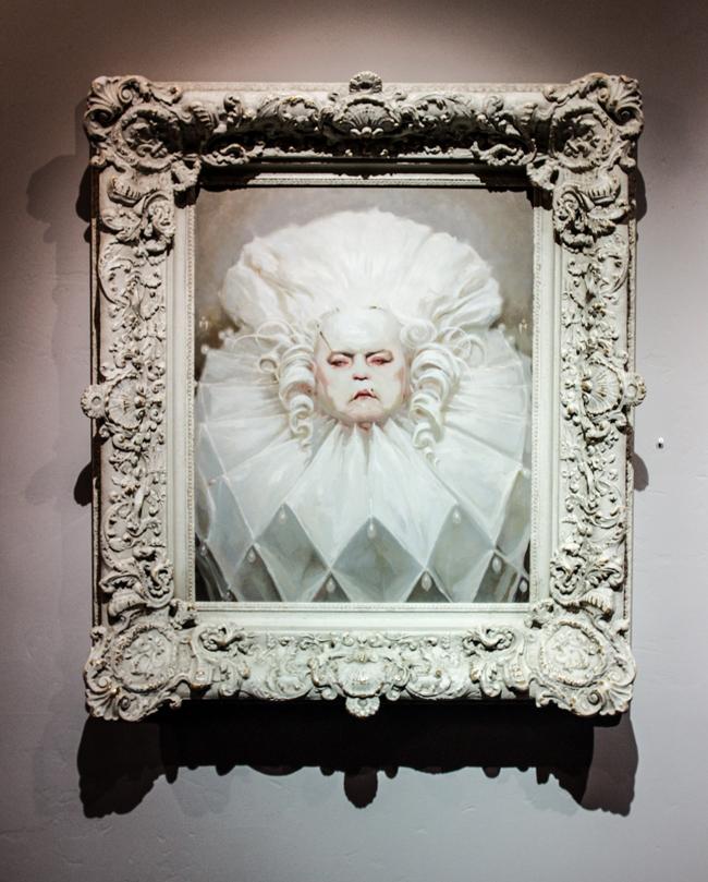 Michael Hussar @ Baker Hesseldenz Fine Art Gallery in Tucson, Arizona - An interview with beautiful.bizarre art quarterly